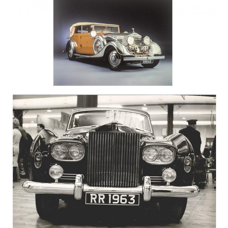 Rolls Royce Phantom 2 (1930er Jahre) / Rolls Royce Silver Cloud (1962)