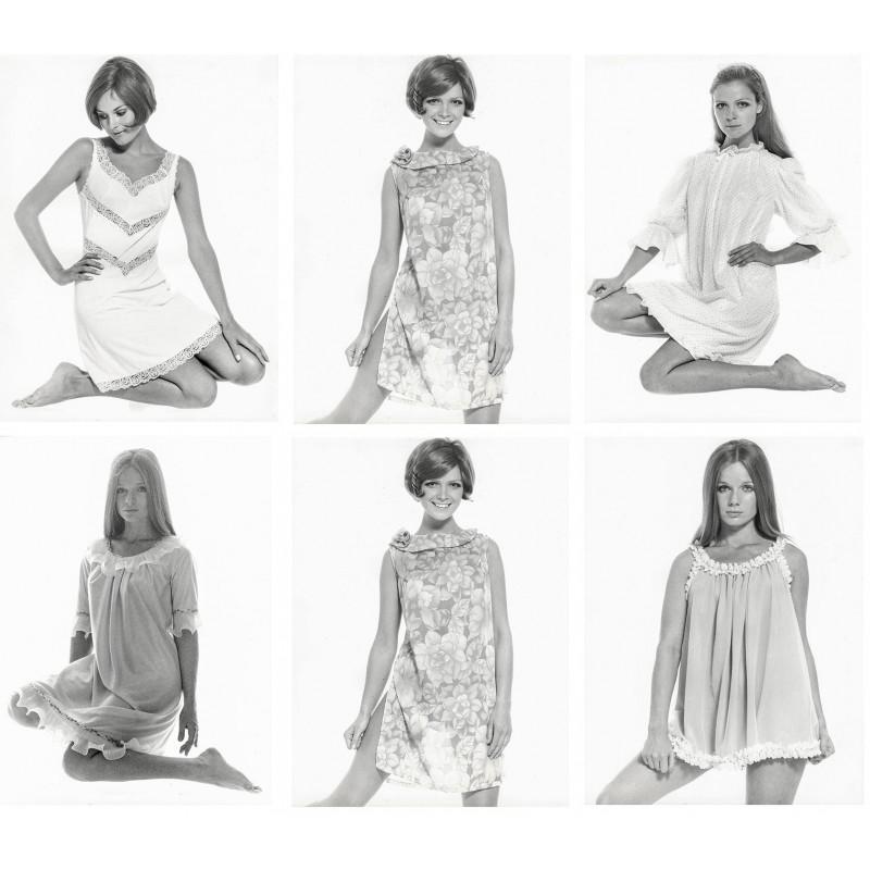 huge selection of e9f53 89037 Die Damen-Nacht- und Unterwäsche Mode 1969: Sechs Original ...