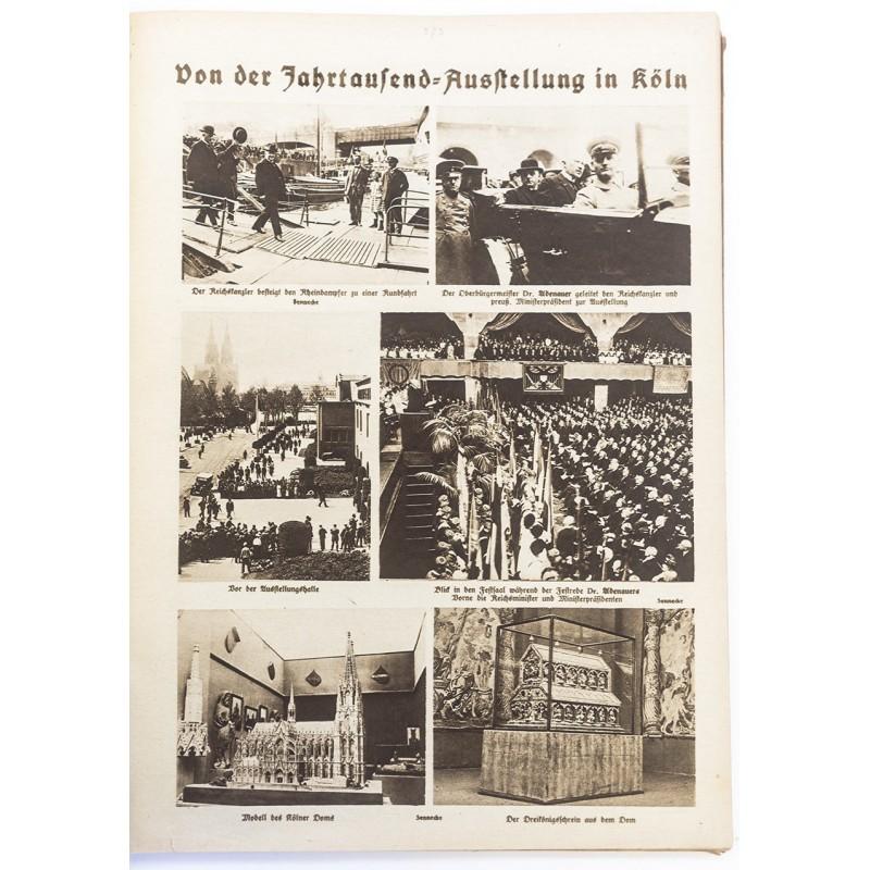Bilderschau der Freiburger Zeitung. Beilage in Rotations-Kupferdruck 1924 / 1925