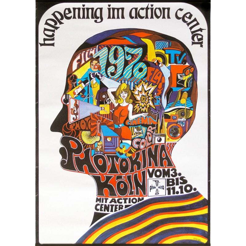 Photokina 1970 - JÜNGER, S.: Werbeplakat: Happening .. (1970)