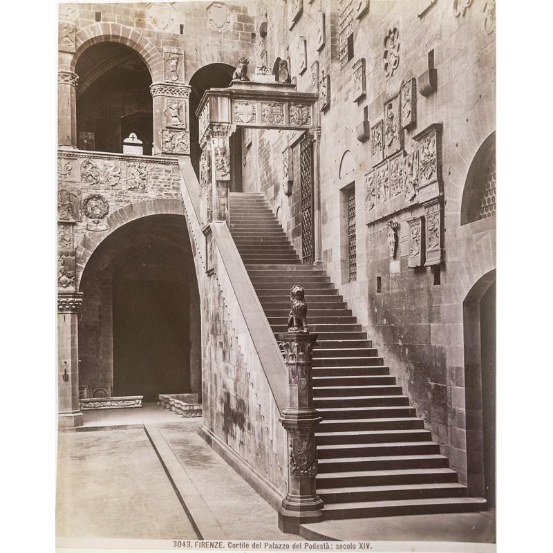 Florenz. Kuppel der Kathedrale. Original Fotografie (ca. 1885).