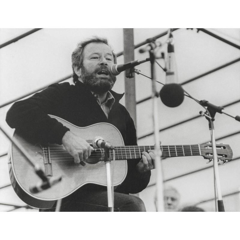 Der Sänger und Liedermacher Franz Josef DEGENHARDT. Original Fotografie (1981)