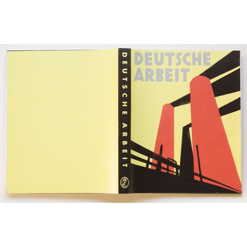 HOPPE, E.O.: Deutsche Arbeit. With (reprinted) DUST JACKET (1930)