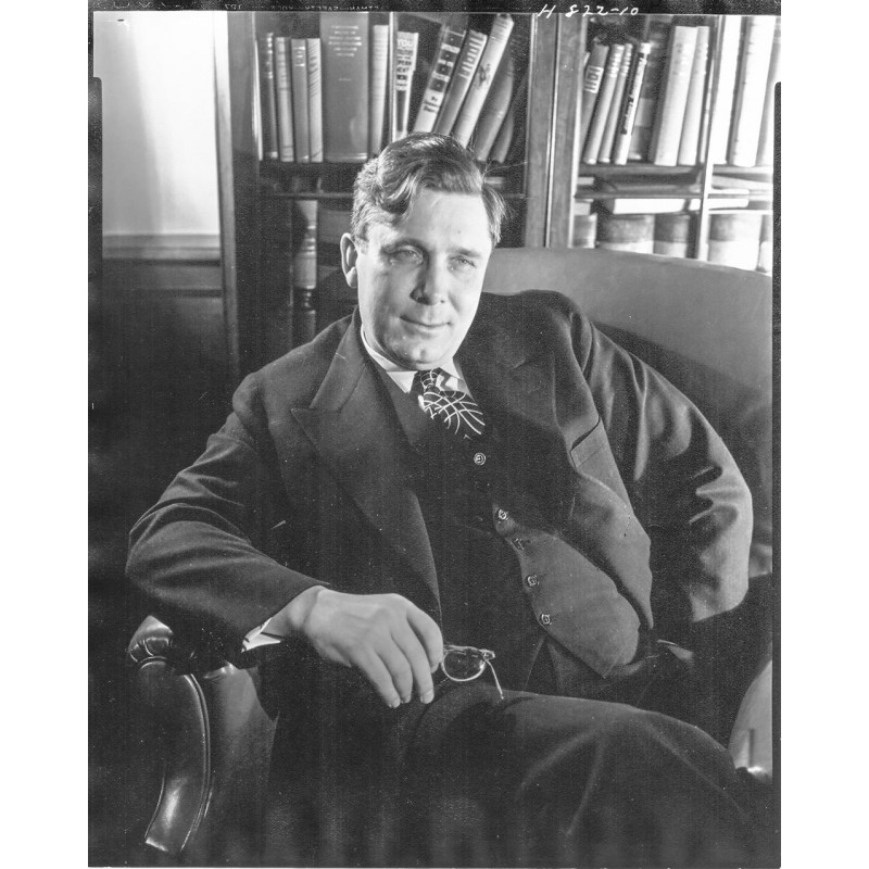 Horst P. Horst: Portrait of Wendell Wilkie. Vintage print (April 30, 1940)