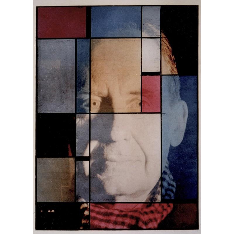 Bauhaus - Xanti Schawinsky: Thema und Variation über das Gesicht von Walter Gropius, 1943