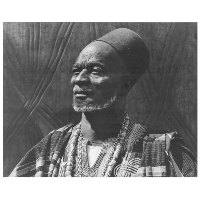 Paul STRAND: Awoleba Adda, The Navrapio of Navrongo, Ghana, 1963. Original photo (1981)