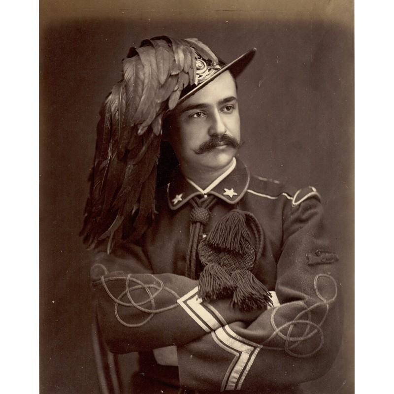 SOMMER, Giorgio: Bersagliero. Original photography (approx. 1870)