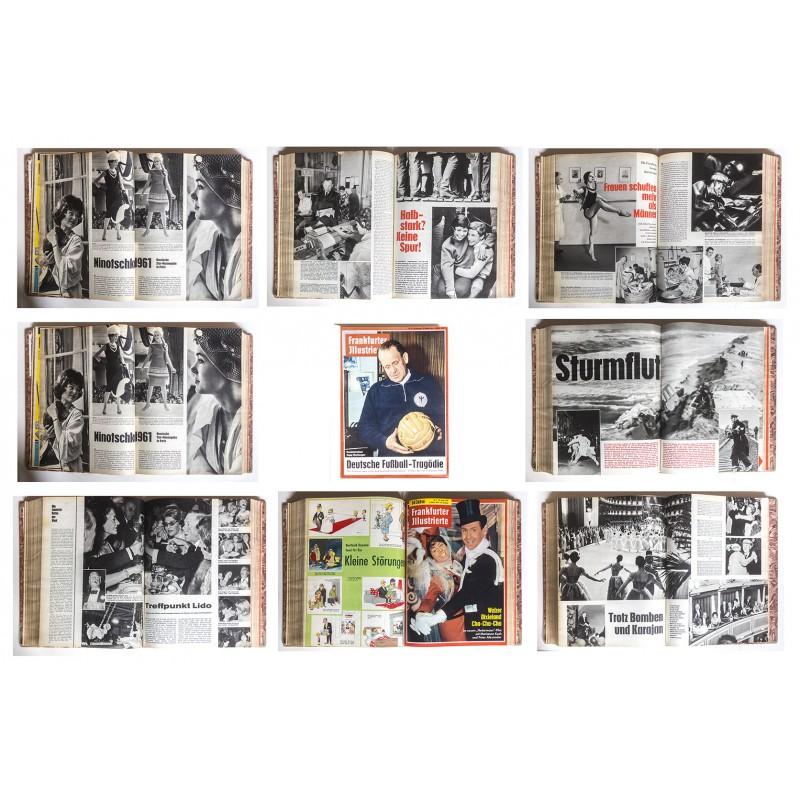 FRANKFURTER ILLUSTRIERTE: Jahrgang 1961 / 1962