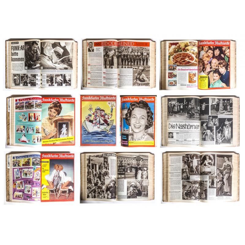FRANKFURTER ILLUSTRIERTE. 1. Halbjahrgang 1960, Heft Nr. 01 (02.01.1960) bis Nr. 24 (11.06.1960)