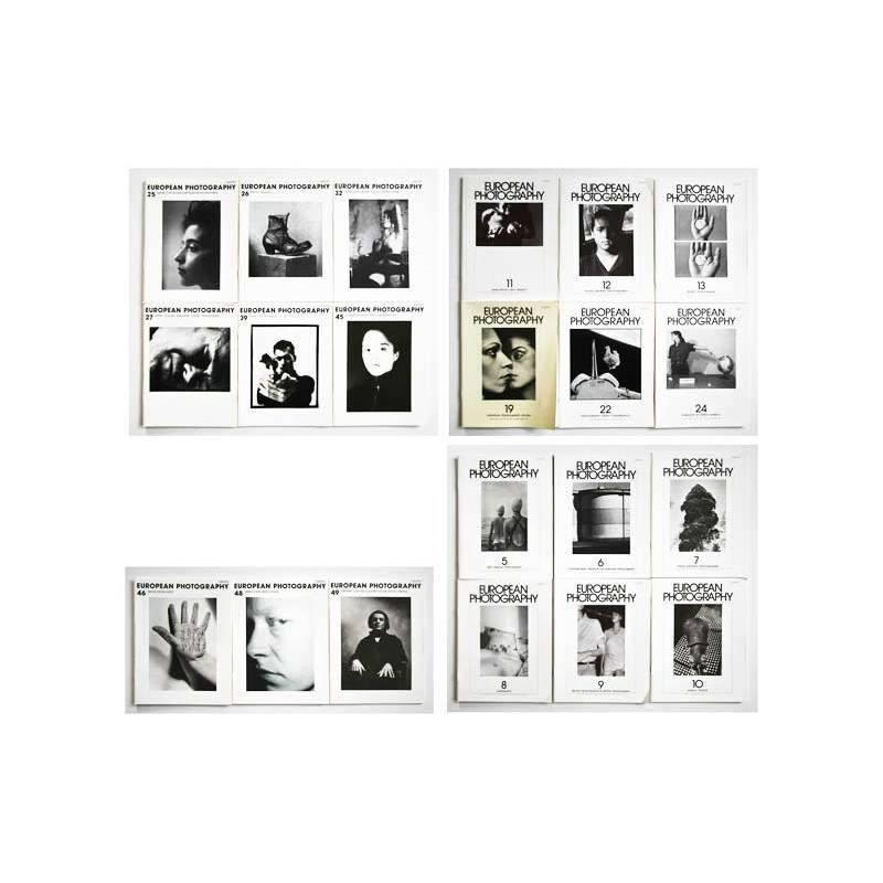 Müller-Pohle, Andreas (Herausgeber): European Photography. 21 Hefte (1980 - 1992).