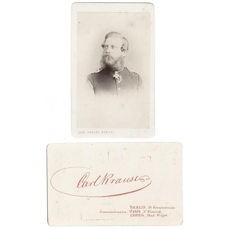 Friedrich Wilhelm Nikolaus Karl - Kaiser Friedrich III. Original-Fotografie (ca. 1871)