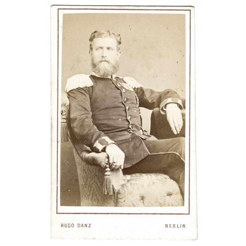 Der Erbprinz von Hohenzollern, späterer Kaiser Friedrich III. Original-Fotografie (ca. 1871)