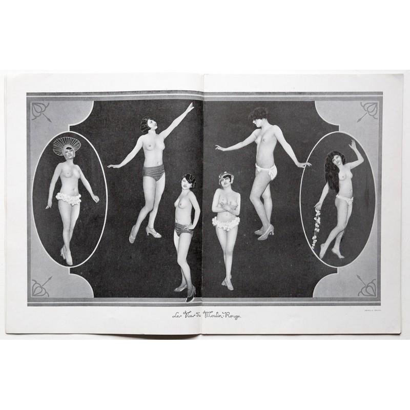 Moulin Rouge: La REVUE MISTINGUETT 1925 - 1926. Revue brochure (1925)