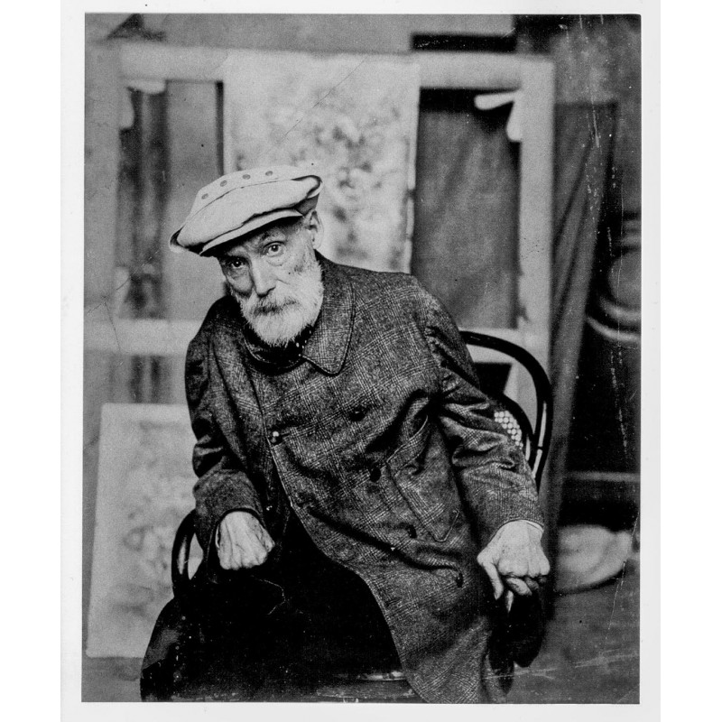 Portrait of Pierre-Auguste Renoir, Vence 1913. Original photography (1998)