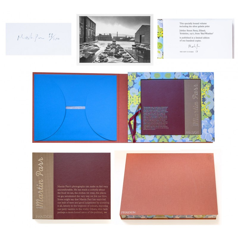 Martin PARR Collector's Edition with ORIGINAL PHOTOGRAPHY (2002)