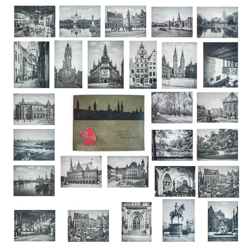 Bremen - Lichtdruck Portfolio mit 26 Tafeln (1907)