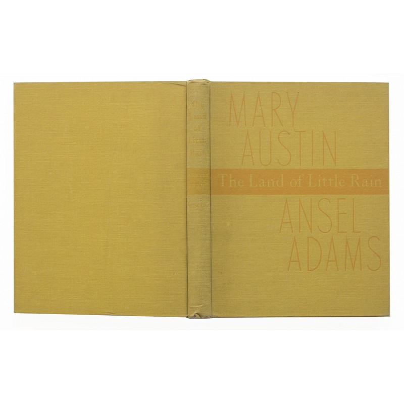 Austin, Mary (Text) and Ansel ADAMS (Fotografien): The Land of Little Rain (1950)