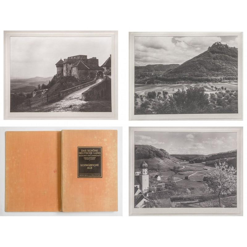Die Schwäbische Alb in zehn qualtiätsvollen Original Fotografien (um 1925)