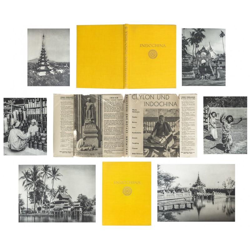 HUERLIMANN: CEYLON and INDOCHINA. Burma, Siam, Kambodscha, Annam, Tongking, Yünnan (1929)