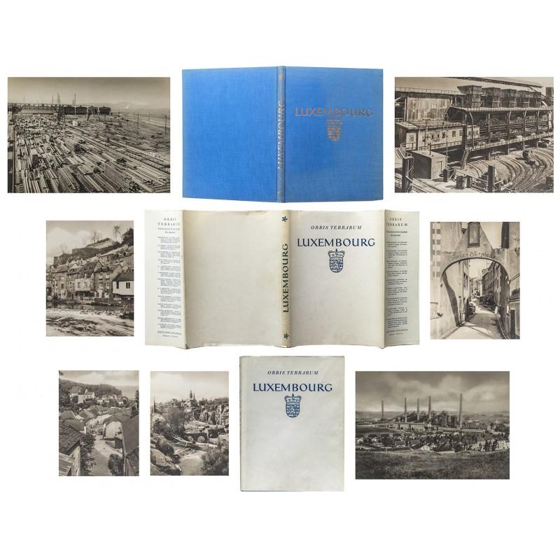 Fotoband von Luxemburg in den 1930er Jahren mit Original Umschlag