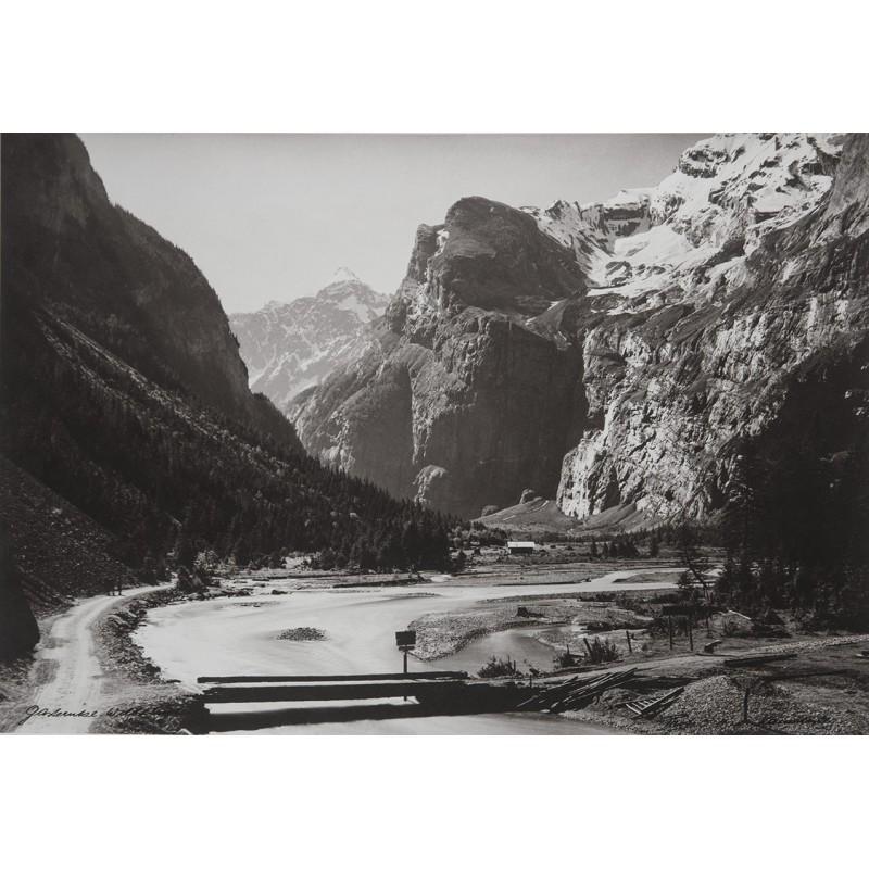 Oskar Friedrich HARI:Gasterntal. Original-Fotografie (1940er Jahre)