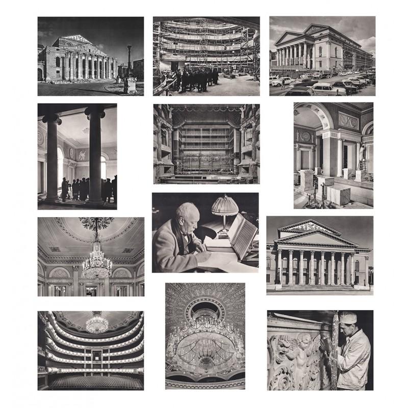 Bayerische Staatsoper: Wiedereröffnung am 21.11.1963. 13 Original-Fotografien (1962 / 1963)