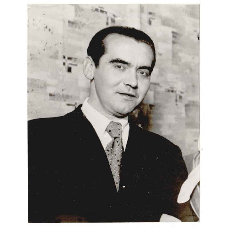 Servicio Espanol de Information: Frederico Garcia LORCA.Original photo - vintage print (1936)