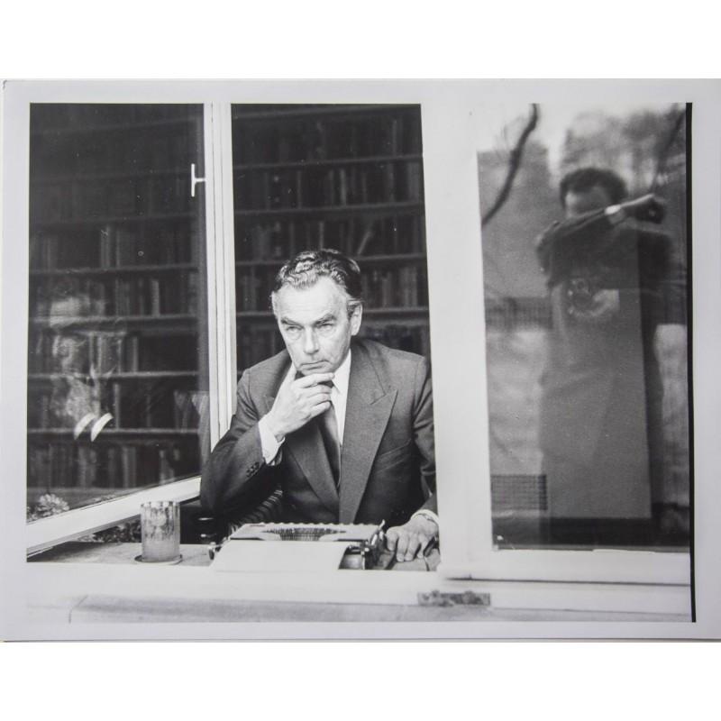 Stefan MOSES: Bildnis von Erich Kästner. Original Fotografie (1959 - wohl späterer Abzug)