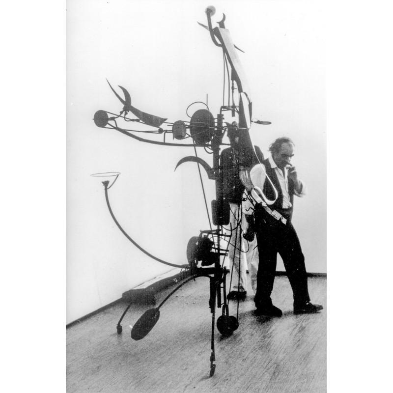 "Leonardo Bezzola: Jean Tinguely and his ""Meta Matics"" No. 17, 1959. Original photography (2000)"