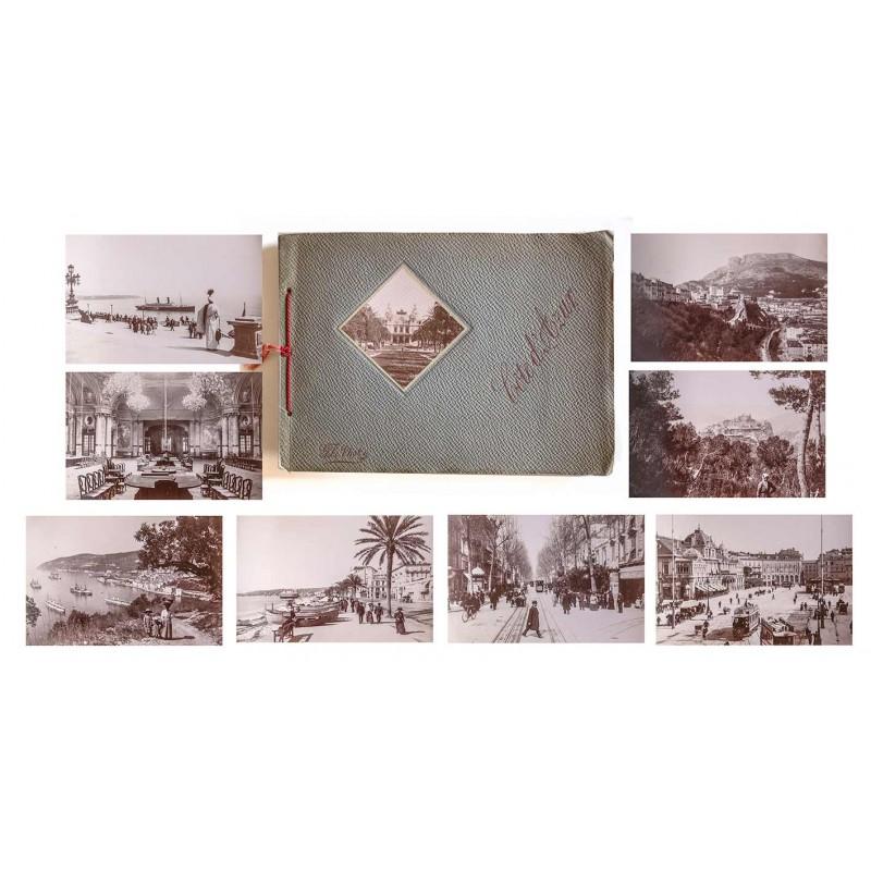 G.F. Photo: COTE d'AZUR. 24 Original Fotografien (ca. 1890)