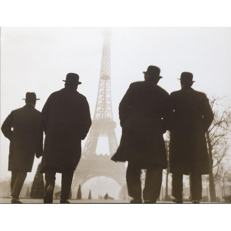 Else THALEMANN: Travel impressions (Eiffel tower).Original photo (1920th printed 1950th)