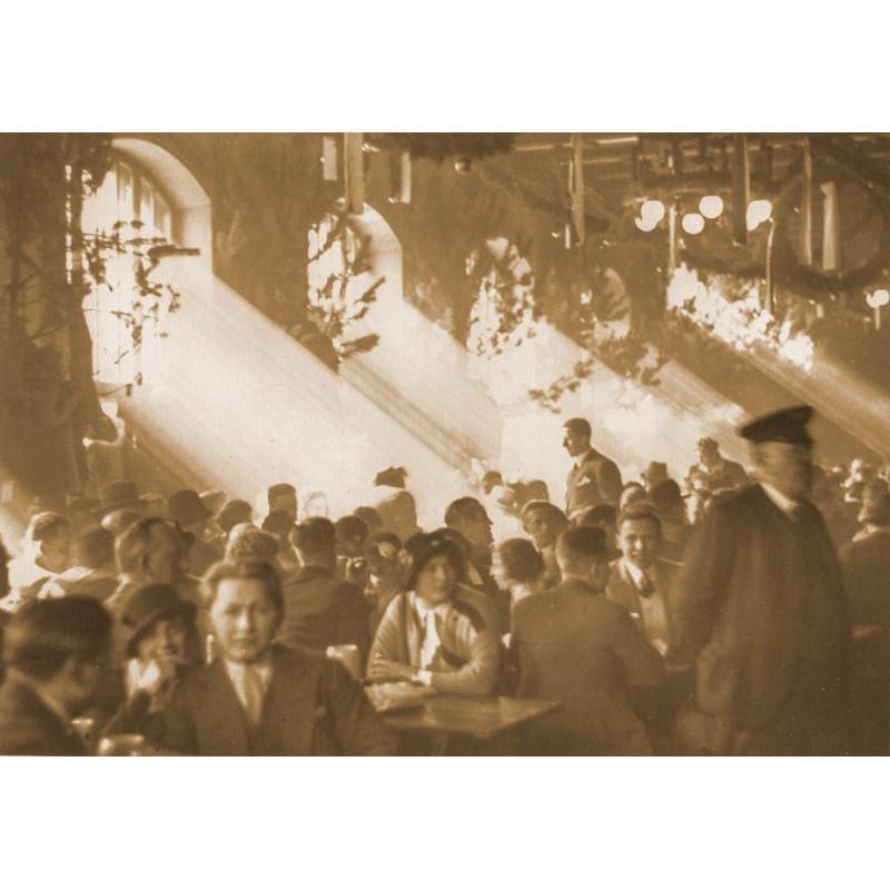 Joseph Schorer: Hofbraeuhaus Munic.Original photography (1920th printed 1950th)