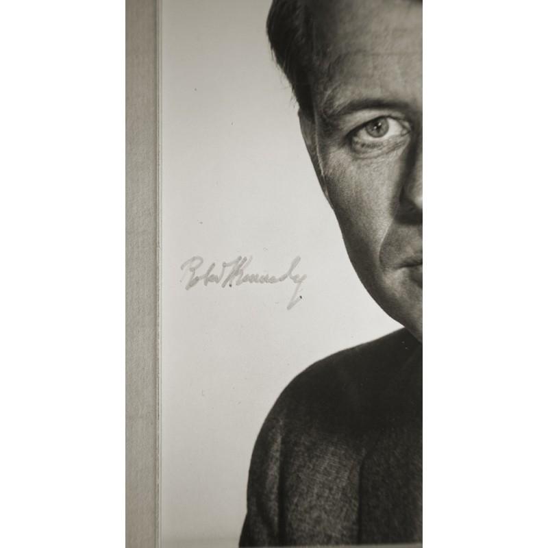 HALSMAN, Philippe: Portrait of Robert Kennedy.Original photography (approx. 1960th)