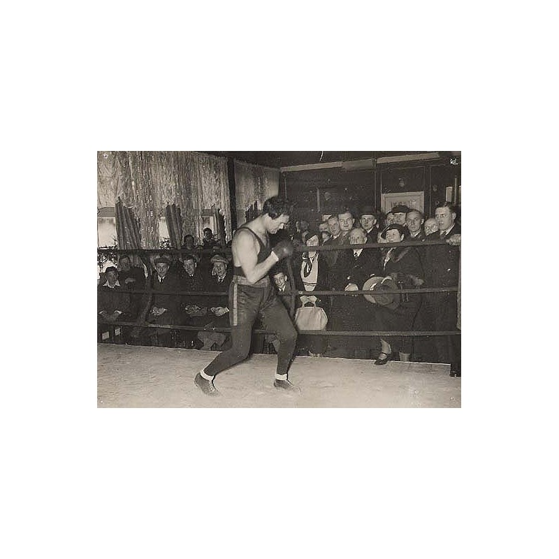 MAX SCHMELING in training camp(1938 - before the fight against Ben Foord)
