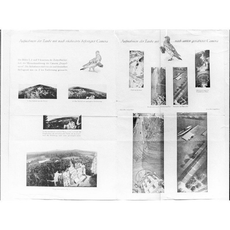 Early rocket technology in five photographs (1906 - prints from 1972)