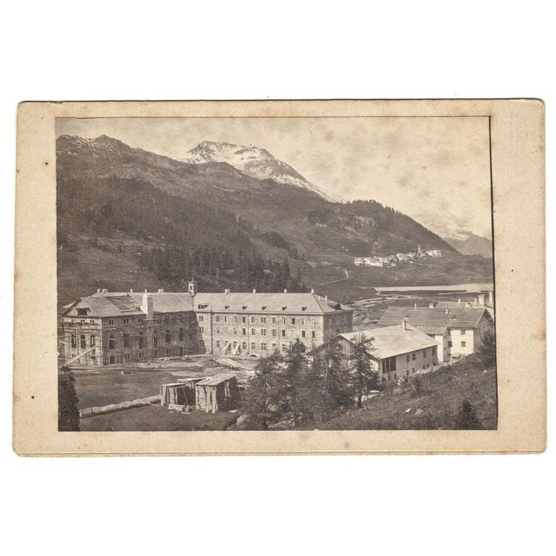 Engadin - Sankt Moritz - Frühe Hotelbauten: Hotel Kempinski