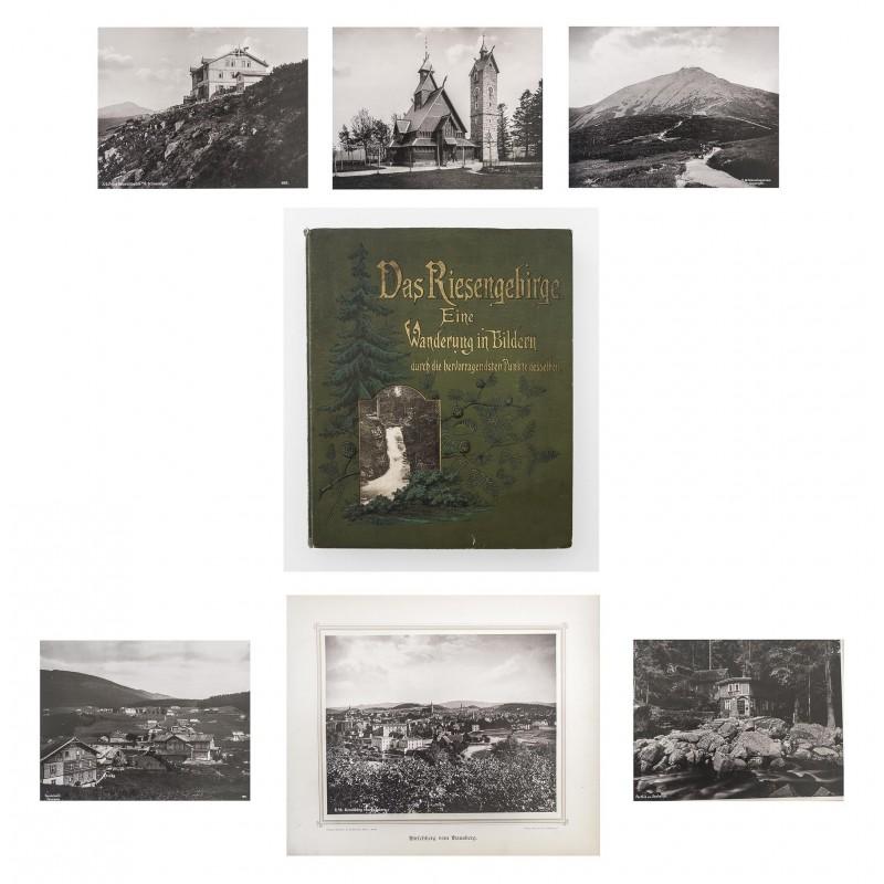 Regell, Paul: Das Riesengebirge. Monumentales Lichtdruck Bildwerk (1892)