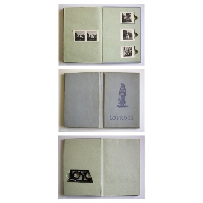 Stereofotografie-Album: LOURDES. Stadt der Bernadette (1949)
