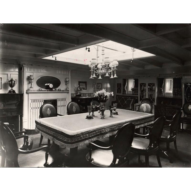 Breuer, Hans: Kaiser Wilhelm II: Des Kaisers S.M.S. Yacht Meteor: Salon des Kaisers.