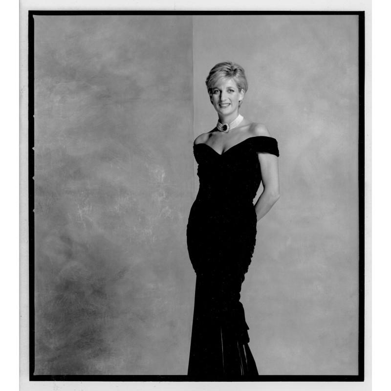 LORD SNOWDON: Prinzessin Diana. Original Fotografie.