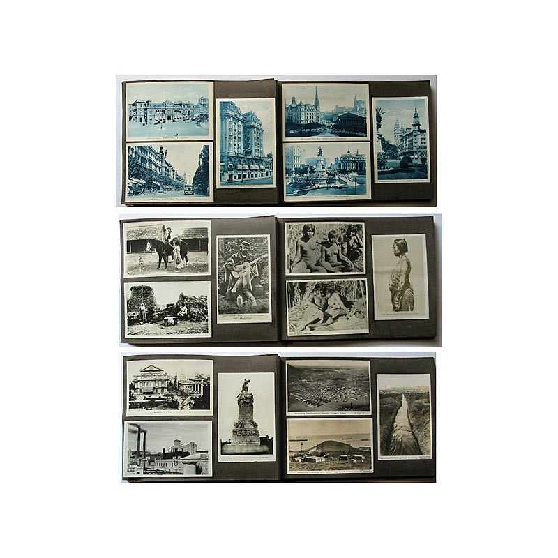 Argentinien: Foto-Album mit 27 Ansichten (ca. 1925).